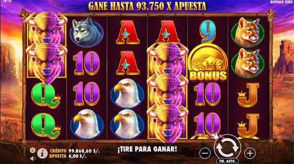 Casino Betsson Perú - Buffalo King