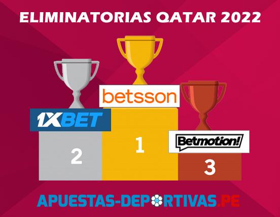 Mejores cuotas de apuestas Mundial Qatar 2022
