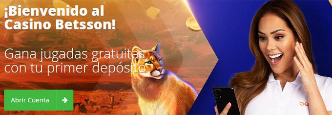 Casino Betsson Perú - Bono de Bienvenida