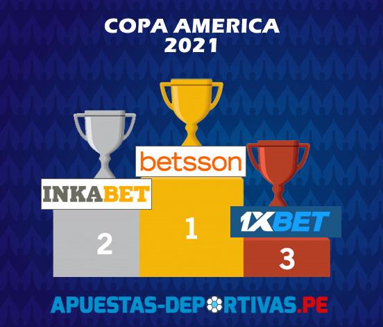 Mejores casas de apuestas Perú Vs Brasil Copa América 2021