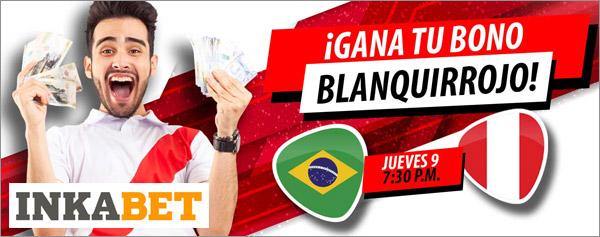 Apuestas Inkabet Perú Vs Brasil