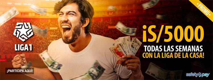 Inkabet Promoción S/5.000 semanales
