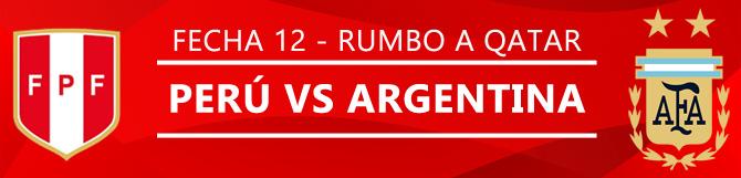 Apuestas Perú Vs Argentina - Pronóstico