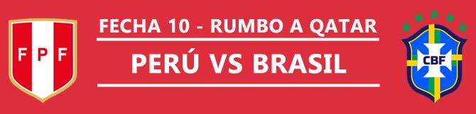 Apuestas Perú Vs Brasil